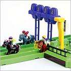 4-Lane Horse Racing Set  (Recharging barn & realistic sound) - £29.99