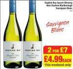 New Zealand Wine - Dogfish Bay 2 for £7 at Netto Usually £4.99 each
