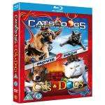 Cats And Dogs 1 & 2 - Triple Play (Blu-ray + DVD + Digital Copy) - £8.99 @ Amazon