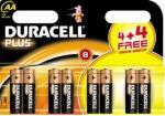 Duracell AA & AAA batteries 4+4free £2.89 @ Netto