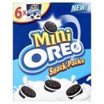 BOGOF Mini Oreo's 6 pack only £1.59 for 2 box's @ tesco