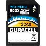 Duracell Secure Digital (SDHC) Memory Card 32GB Pro Photo 200X  Class 10 30MB/s  £37.99 del @ 7Dayshop