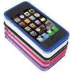 iPhone 4 Hard Rubber Rim / Bumper Case 5 x Multi-Pack - Includes Front & Back Screen Protectors £5.99 del@ 7Dayshop