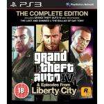 GTA IV Complete For PS3 - £12.99 Delivered @ Amazon
