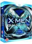 X Men quadrilogy on blu ray £19.96 @ Blockbuster