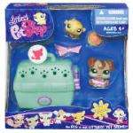 Littlest Pet Shop Small Portable Playset - Two Pets with Accesories - Half Price - £1.97 at Tesco (free delivery to store) - Two Pets & Accessories & Carrier