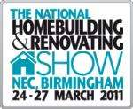 Free Pair of Tickets To National Homebuilding & Renovating Show At Birmingham NEC - 24th to 27th March @ Event Data (revised link in main body now working)