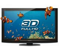 "Panasonic Viera TX-P42GT20B - 42"" Full HD 3D Ready Plasma TV With DMP-BDT100EG 3D Blu Ray Player & TY-EW3D2ME 3D Glasses - Medium (x2) - £998 Delivered @ Currys"