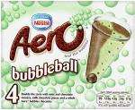 Nestle Aero Bubbleball (4 x 100ml) £1 at Tesco