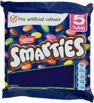 Nestle Smarties - 5 x 40g Tubes £1 a Pack at Tesco