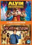 Alvin And The Chipmunks & Night At The Museum (DVD) (2 Disc) - £3 @ Tesco Entertainment