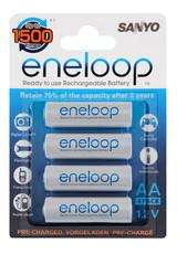Sanyo Eneloop AA 4 Pack Rechargeable Batteries (HR-3UTGA) £4.99 @ Asda
