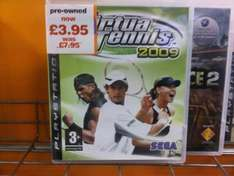 *PREOWNED* Virtua Tennis 2009 For PS3 - £3.95 *Instore* @ Blockbuster