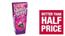 Quality Street only £1 a box @ Co-op