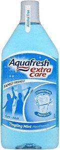 Aquafresh Extra Care Mouthwash Ting Mint 500ml now £1 @ morrissons (was £3.05)