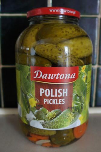 Dawtona Polish Pickles £1.50 reduced from £4 @ Tesco instore