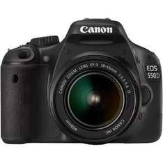 Canon EOS550D18-55IS - Digital SLR Camera - £579.98 Delivered @ Laskys