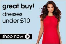 Dresses under £10 @ Tesco Clothing