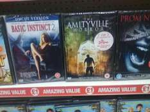 Basic Instinct 1 & 2 (DVD) - £1 Each Instore @ Poundland