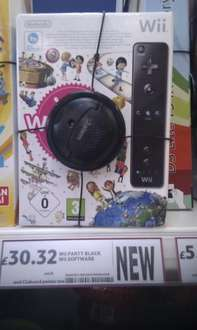 Wii Party With Black Wii Remote - £30.32 *Instore* @ Tesco