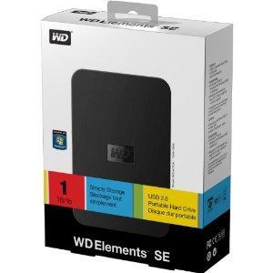 Western Digital Elements 1TB USB 2.0 Portable Hard Drive - £69.97 Delivered @ Amazon