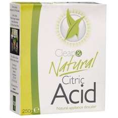 Citric Acid descaler 250g - eg as required for Philips Senseo coffee machine, £2 @ John Lewis