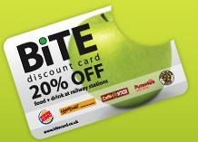 Free 20% Discount Card @ Bite Card