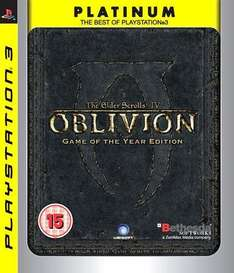 The Elder Scrolls IV: Oblivion: Game of The Year Edition: Platinum Edition For PS3 - £11.49 Delivered @ Play