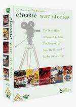 Classic War Stories (5 DVD BoxSet) The Longest Day/Sink The Bismark/The Desert Rats/Twelve OClock High/A Farewell To Arms & Classic War Movies (5 DVD BoxSet) Von Ryans Express/The Young Lions/The Hunters/The Sand Pebbles/The Desert Fox £4.95 @ Base