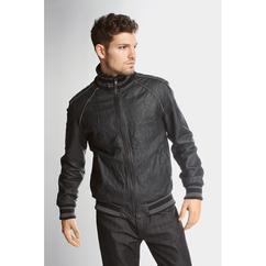 Goodsouls Leather Bomber Jacket - £29.99 @ Bargain Crazy