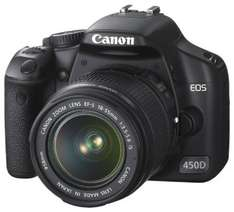Canon EOS 450D Digital SLR Camera with 18-55mm Lens New £349.99 @Argos/Ebay