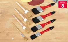 DIY Essentials Week at Lidl - Paint brushes £2.99 for 8