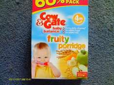cow and gate baby balance breakfast boxed cereal £1.09 @ Co-op