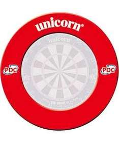 Red official PDC unicorn dart board surround £14.99 @ JJB
