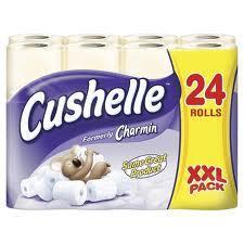 24 rolls of Cushelle toilet tissue £7 @ Netto