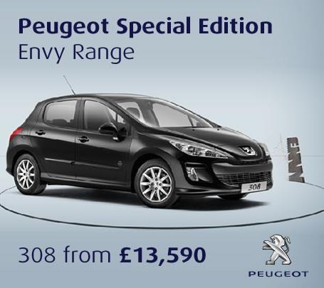 Peugeot 308 Hatchback - 1.4 VTi 98 S 5dr - £11,285 @ Drive The Deal