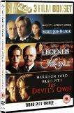 Meet Joe Black/ Legend's Of The Fall/ The Devil's Own [BOXSET] 99p @ choicesuk.com