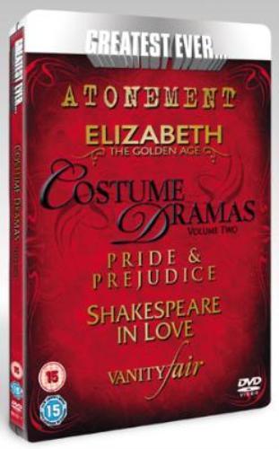 Greatest Ever Costume Dramas - Volume 2 [5 FILMS] [STEELBOOK] £1.99 @choicesuk