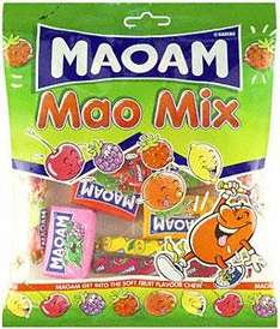 Haribo Maoam Chewtwo (160g), Haribo Maoam Stripes (180g) & Haribo Maoam Mao Mix (180g) Two Bags for £1.50 at Sainsburys