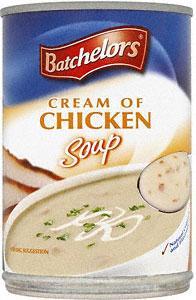 Batchelors Cream of Chicken, Mushroom, Tomato or Vegetable Soup (400g) 39p at Sainsburys