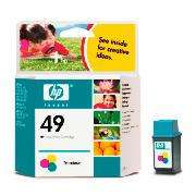 HP 49 Colour Ink Cartridge was £26.52 now £5.57 @ tesco