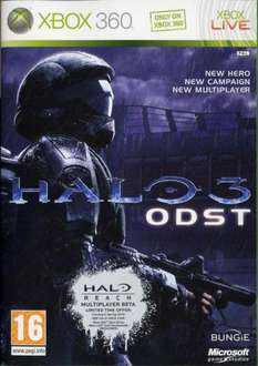 Halo 3: ODST + Halo 3 DLC Disc (360) £5 Pre-Owned @ CEX