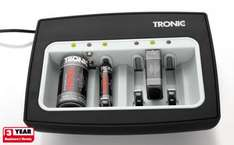 Tronic Battery Charger with Refresh Function - for AAA, AA, C, D and 9V block - charging for up to 6 batteries - £7.99 @ Lidl
