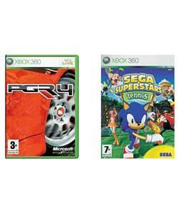 Project Gotham Racing 4 & Sega Superstars Tennis (Xbox 360) - £5.98 @ Ebay Argos Outlet