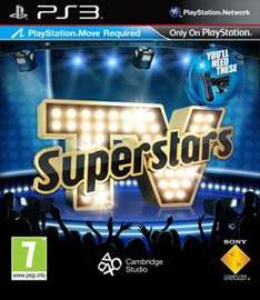 TV Superstars: Move Compatible For PS3 - £9.00 Delivered @ Amazon Sold By My Memory