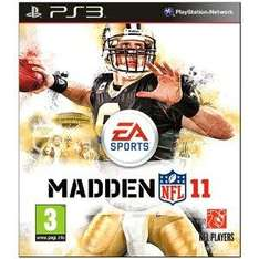 Madden NFL 11 For PS3 & Xbox 360 - £15.99 Delivered @ Amazon