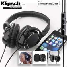 Klipsch Image One professional headphone with microphone  £ 59,95 + (7,95p.p) @ Ibood.co.uk