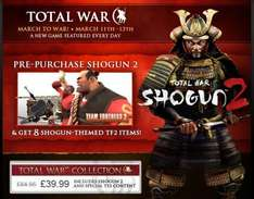 Total War Collection: Includes Shogun 2 For PC - £39.99 @ Steam