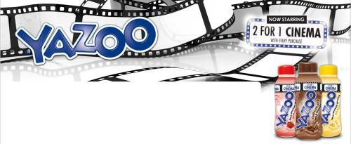 Free 2 For 1 Cinema Tickets For Reel & Showcase Cinemas @ Yazoo