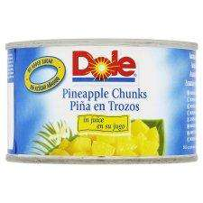 Dole Pineapple Chunks / Slices/ Crushed In Juice 227G 59p each or 3 For £1 @ Tesco
